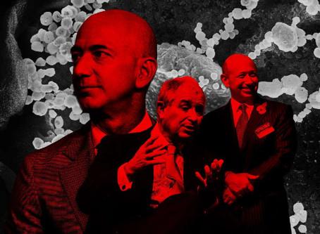 Os lucros obscenos dos super-ricos com a pandemia