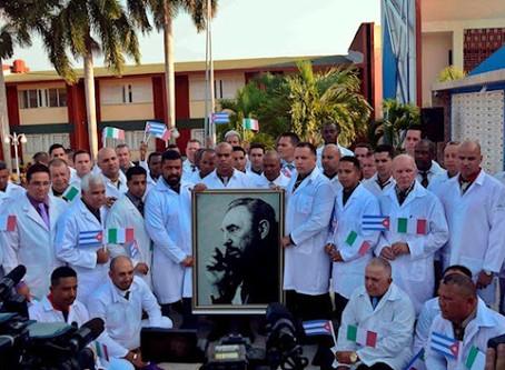 Organizações dos EUA e França pedem que o 'Prêmio Nobel da Paz' seja entregue aos médicos cubanos