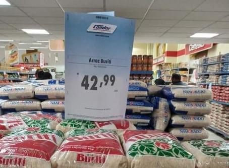 Guedes acabou com estoques reguladores e preços do arroz explodiram