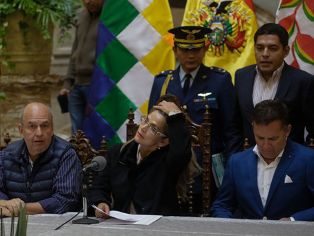 """""""O regime golpista não fez nada para deter o vírus na Bolívia"""""""