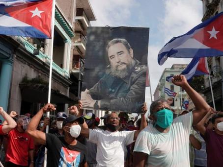Nota sobre os protestos em Cuba