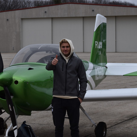 Checkride PASSED! New Private Pilot Anders D.