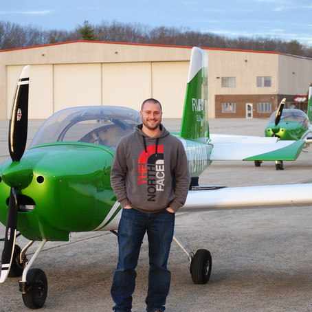 First Solo! Stephen R.