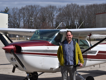 CHECKRIDE PASSED! - New Instrument Pilot Ian R.