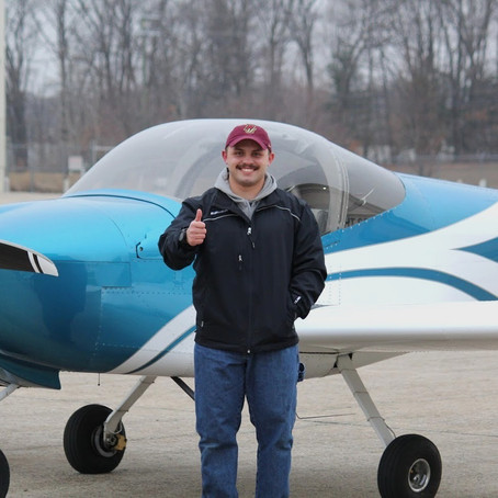 First Solo! Evan C.