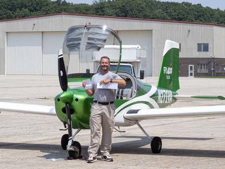 CHECKRIDE PASSED! New Sport Pilot Scott E.