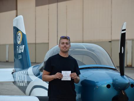 CHECKRIDE PASSED! New Private Pilot Jesse B.