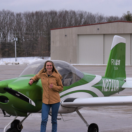 First Solo - Elora M.