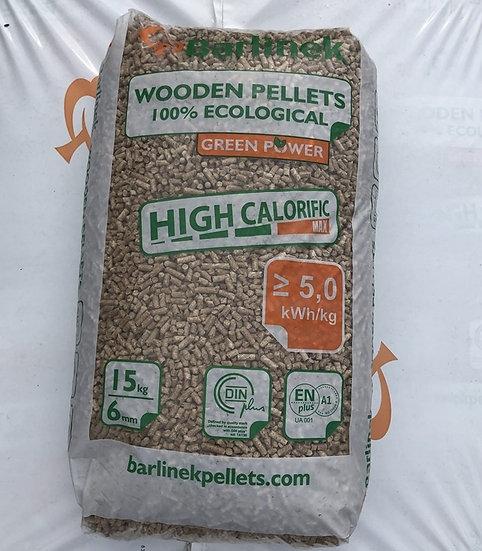 Pellet Barlinek 6 mm, worek 15 kg.