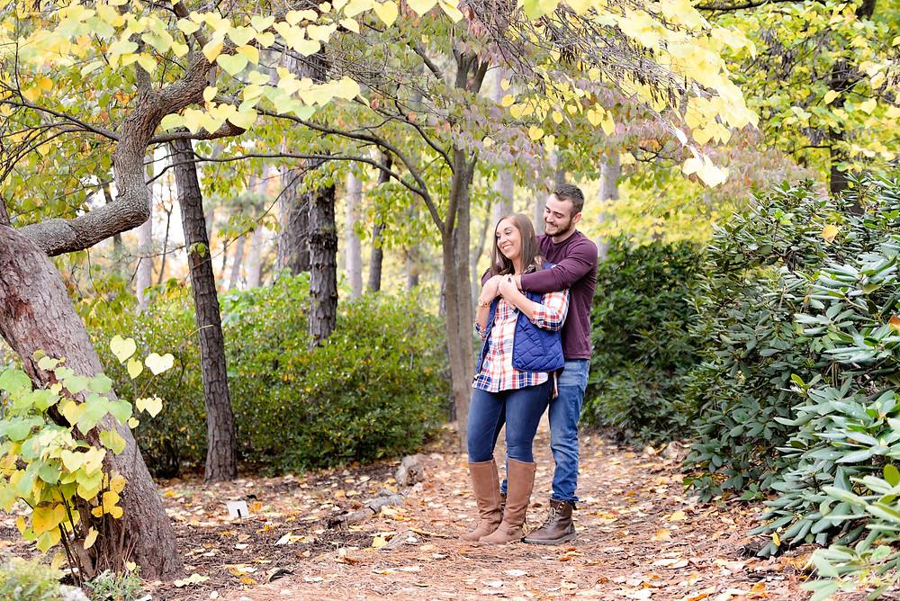 University of Michigan, Matthaei Botanical Gardens, Engagement Session
