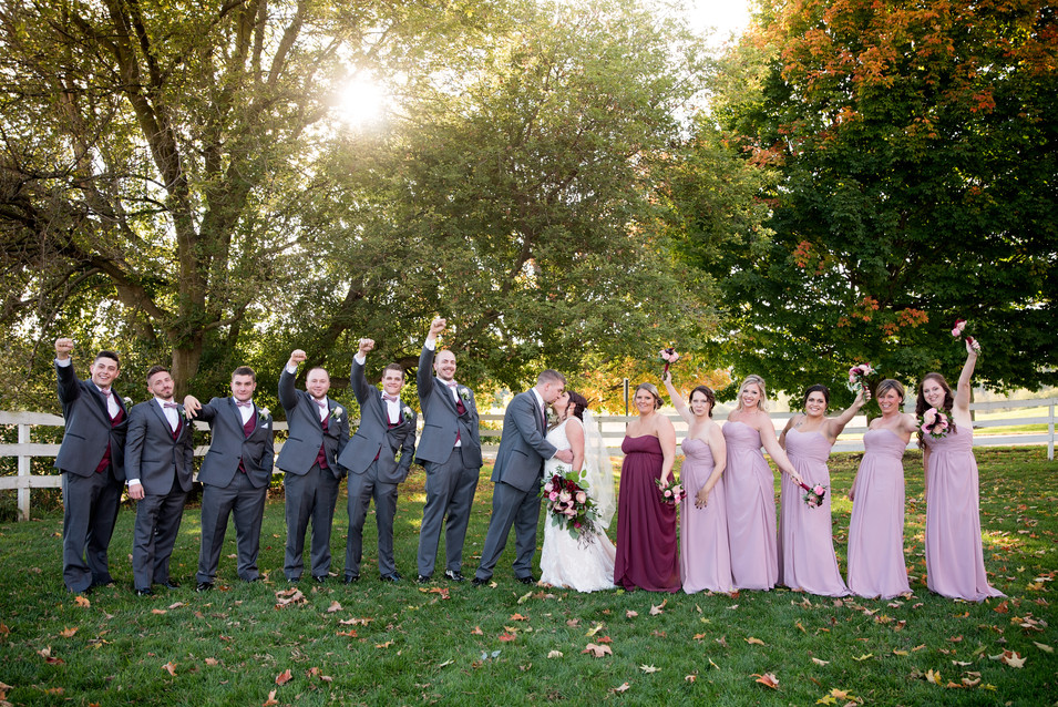Hilltop Manor Clarklake, MI Wedding Phot