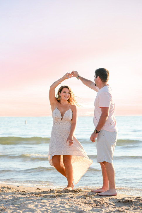 South Haven, MI Engagement Photography-2