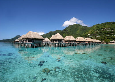 Tahiti Overwater Bungalow Honeymoon