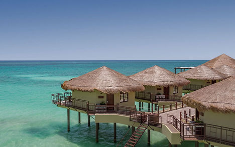 Mexico Overwater bungalows