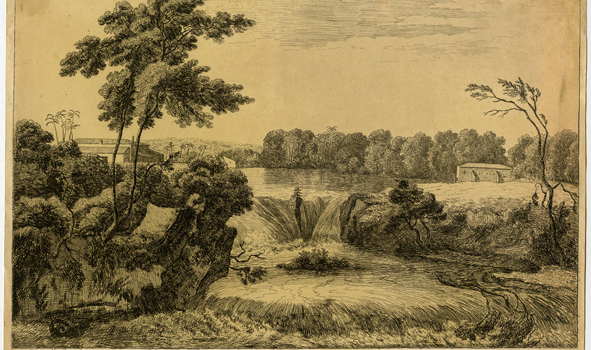 View of the Snuff Mills near the Havana