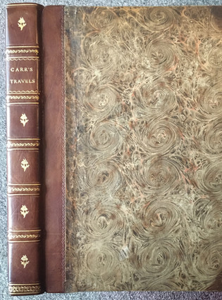 Sir John Carr.  DESCRIPTIVE TRAVELS IN THE SOUTHERN AND EASTERN PARTS OF SPAIN AND THE BALEARIC ISLES, IN THE YEAR 1809.