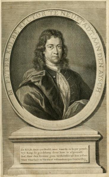 Portret Peter Kolbe
