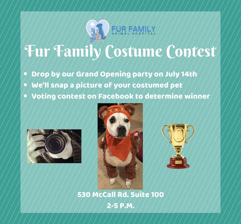 Fur Family Costume Contest