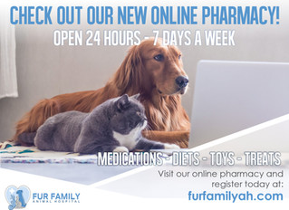 Online Pharmacy Now Available