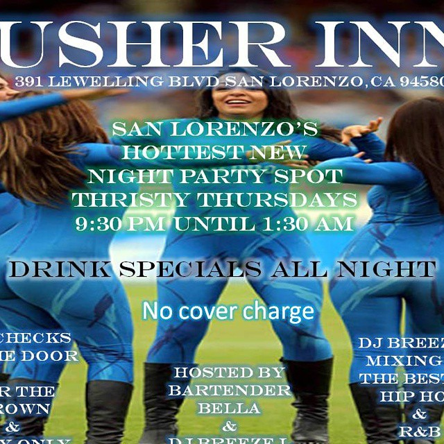 And you wonder why you always find good looking girls at the Usher INN but it's a dive