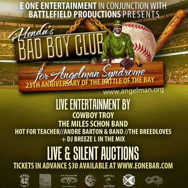 Battle of the bay concert at E one entertainment in Oakland California