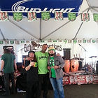 St Patrick's Day Street festival at Gallaghers in Dublin California with Johnny Gunn Jr and dos taco