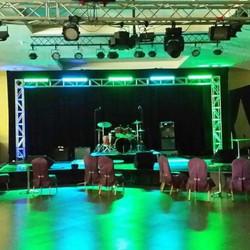 E1 Entertainment stage