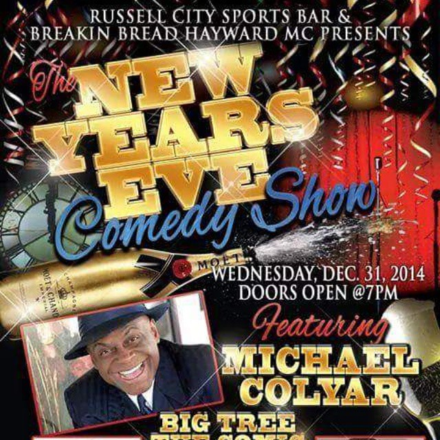 New Years Eve 2014 doing it big at Russell city in Hayward California it was going down