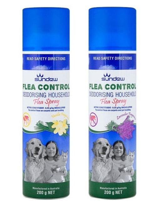 Flea Control Deodorising Household Flea Spray