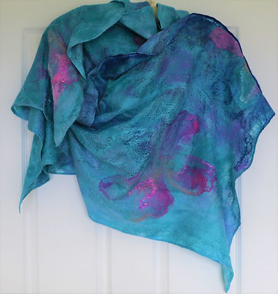Lift Your Spirits with a Shawl by Elena - Silken Butterflies in Gorgeous Shades