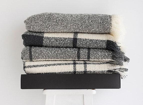 Beautiful New Zealand Wool Twill Throws