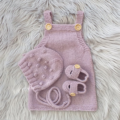 Very Special in Mauve Blush - Hand Made in Pure New Zealand Wool