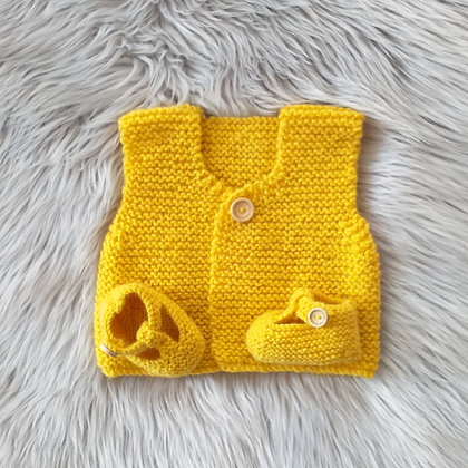 A Sunny Flower - Hand Made in Pure New Zealand Wool