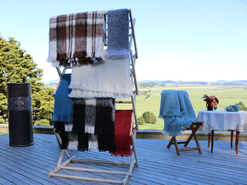 Alpaca and Mohair Throws and Scarves.JPG