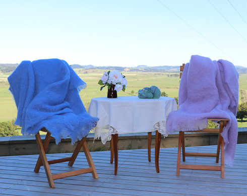 Mohair Throws in Provence and Lilac.JPG