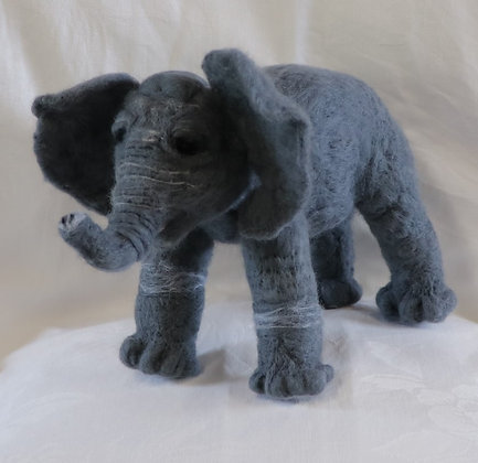 Heirloom Hand Crafted Animals by Elena in Pure New Zealand Wool