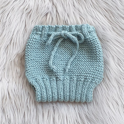 Overnaps in Sea Spray Green - Hand Made in Pure New Zealand Wool