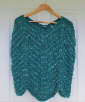 Sea Green Relaxed Jumper by Suzanne
