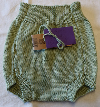 Overnaps in Soft Alpaca Wool - Pistachio - Size 2 years