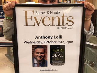 Book Signing - The Heart of The Deal