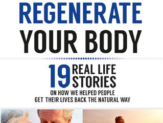 Regenerate Your Body - NEW BOOK!!!