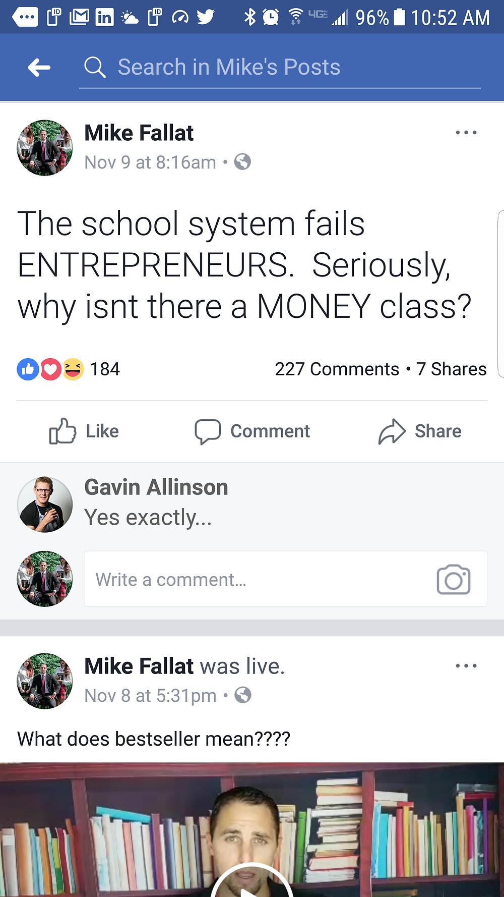 mike fallat - facebook