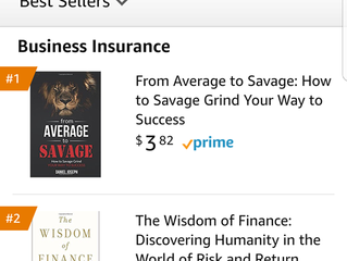 NEW BOOK! FROM AVERAGE TO SAVAGE BY DANIEL JOSEPH!