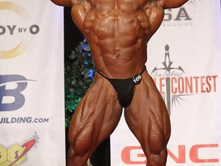 WISHING OUR CLIENT SUCCESS AT MR. OLYMPIA CONTEST