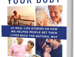 BOOK LAUNCH - REGENERATE YOUR BODY