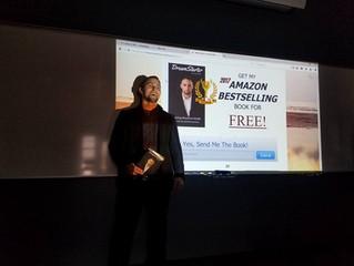 Mike Fallat at Robert Morris University for Entrepreneur and Marketing Seminar