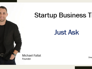 Startup Business Tip: Just Ask