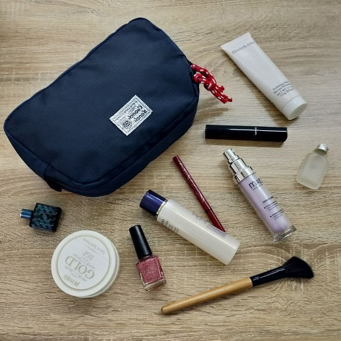 Rough Enough Multi Function Medium Big Rip Stop Polyester Tool Pouch Organizer Travel Wash Bag Holde
