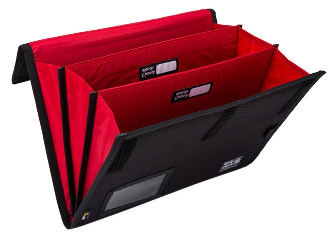 Rough Enough Accordion Expanding File Folders Organizer Bag A4 paper Letter size Document Pouch Larg