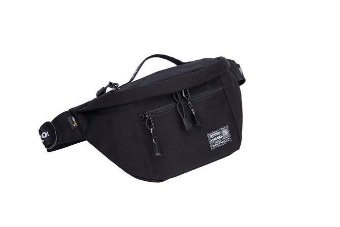 Rough Enough Outdoor Durable Cordura Multi Pockets Hiking Waist Packs Bag Large Big Volume Satchel C